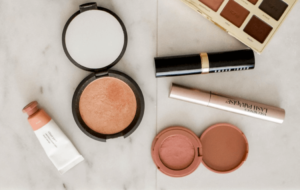A selection of different types of blushers