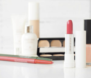 A selection of makeup and beauty products