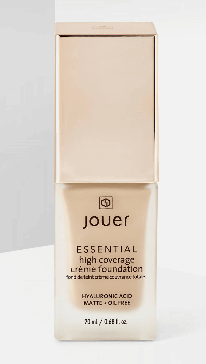 Picture of a Bottle of Jouer Essential Foundation On a White Background