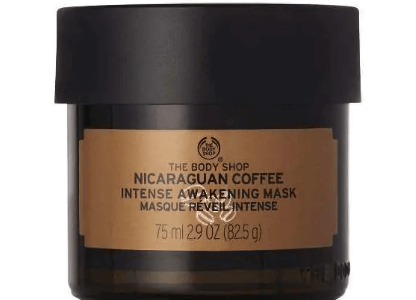 Picture of The Body Shop mask on a white background
