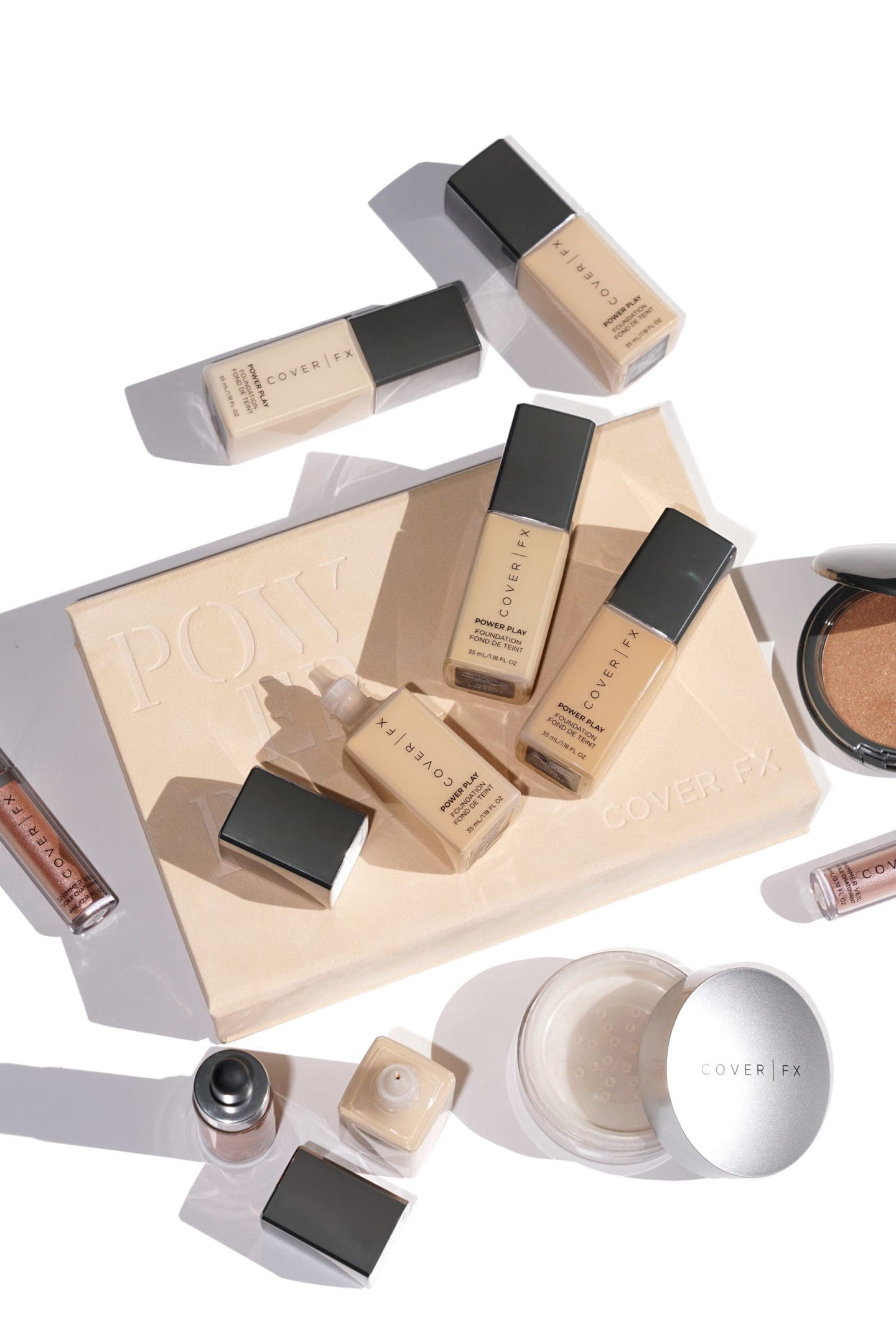 Cover FX Power Play Beauty Products.