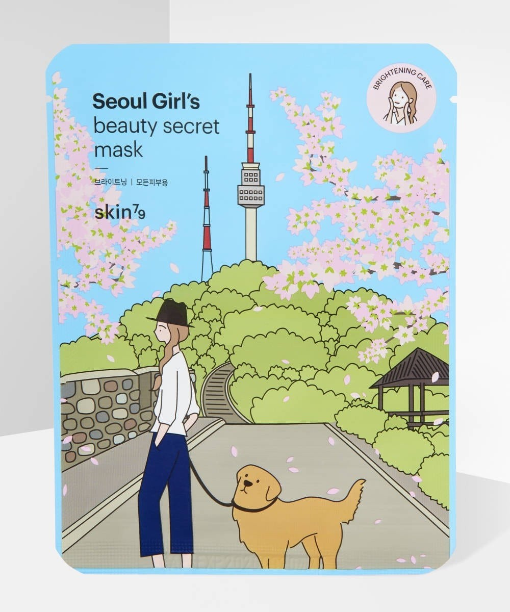 Seoul Girls Beauty Secret Brightening Sheet Mask.