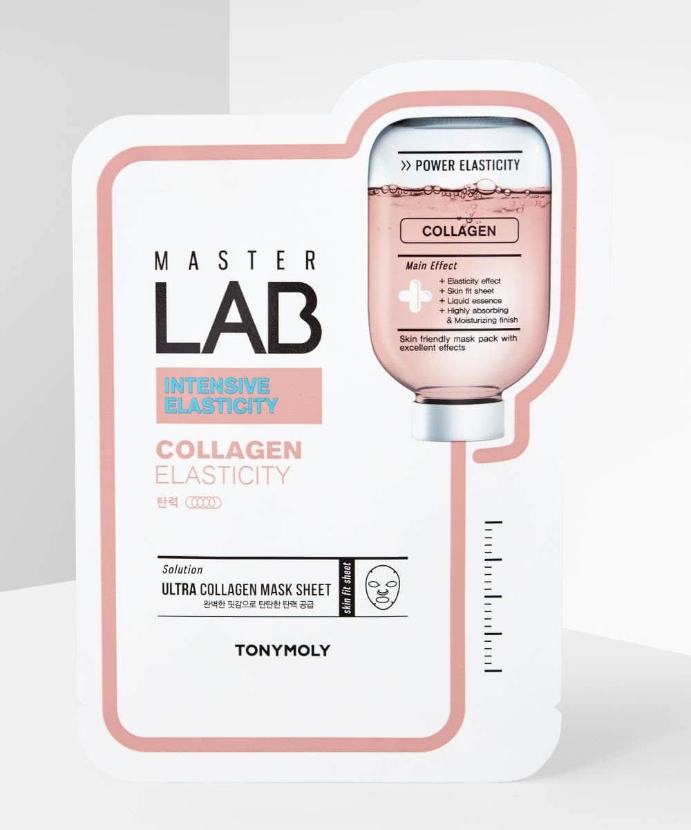 TONYMOLY Master Lab Collagen Sheet Mask- K-BEAUTY SKIN MASKS.