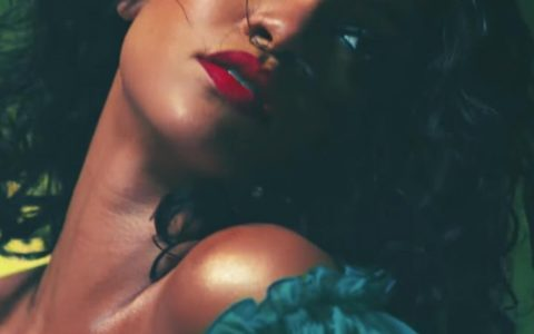 Singer Rihanna, pictured from a still from her music video 'Wild Thoughts'.
