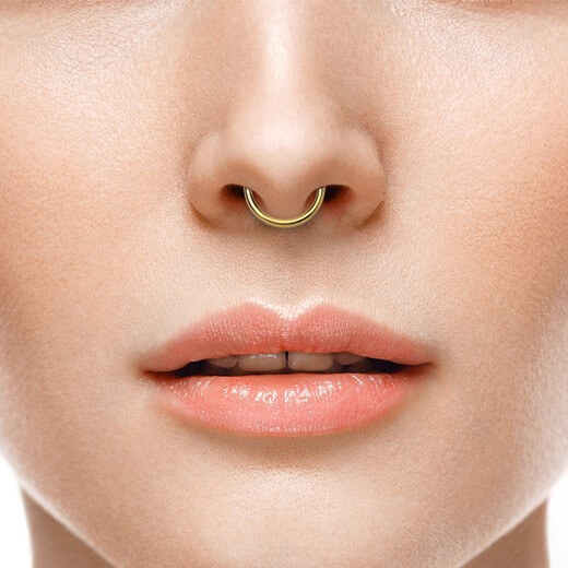 Septum Piercing Questions Pain Smell Aftercare Beautysyn Com